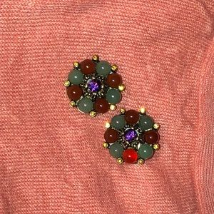 Heidi Daus Vintage clip-On earrings
